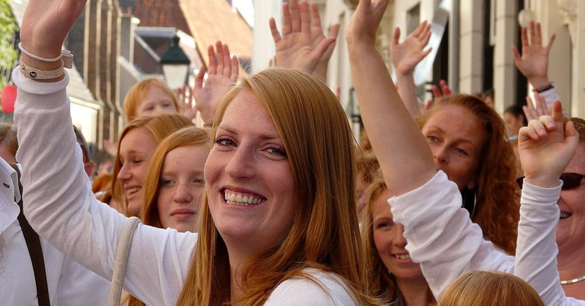 France is set to stage its very first festival in honor of redheads this summer | ©Eddy Van 3000 / Wikicommons