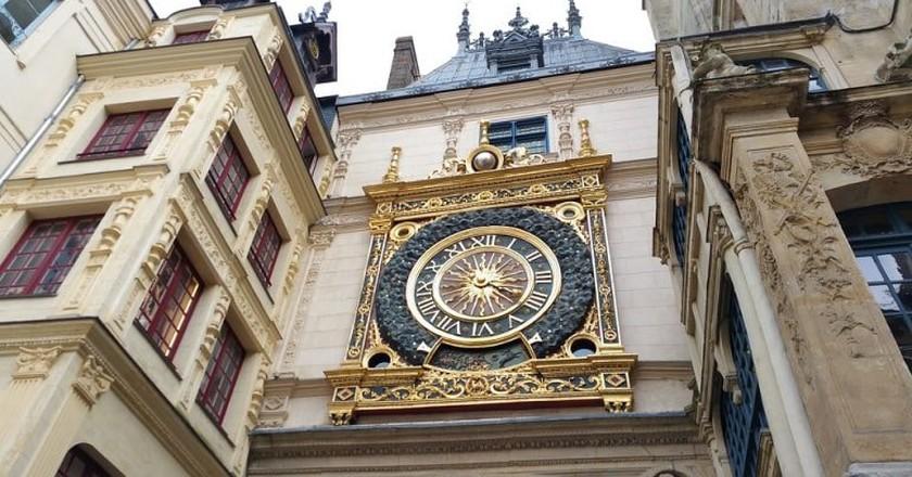 The famous Gros Horloge of Rouen