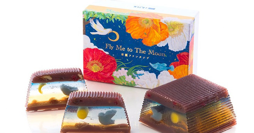 This Magical Candy Reveals a New Scene With Every Slice, And It's Beautiful