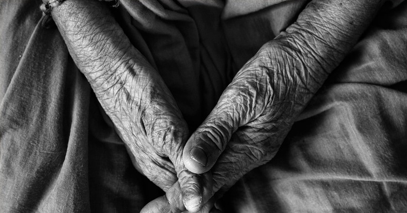 The Beauty of Old Age   © Vinoth Chandar/ Flickr