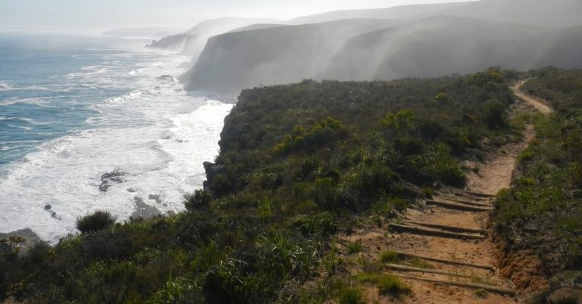 Step out the comfort zone with a coastal hike