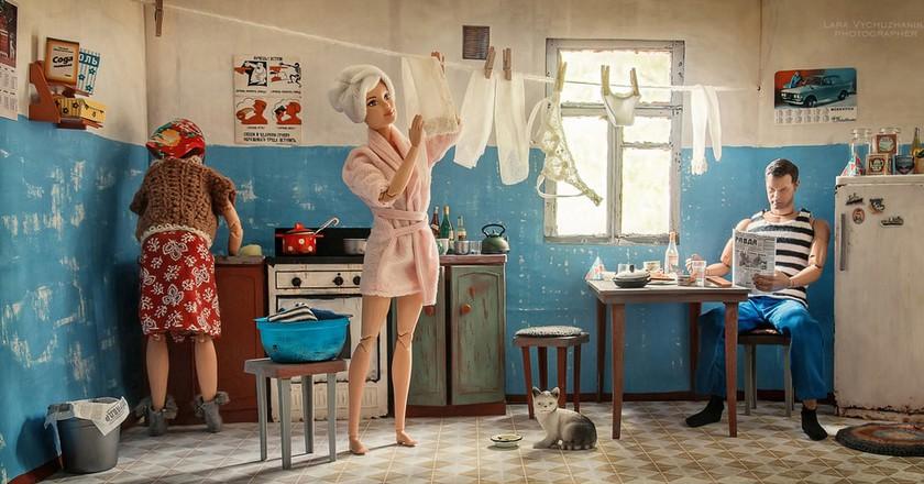 Barbie in the USSR  © Lara Vychuzhanina