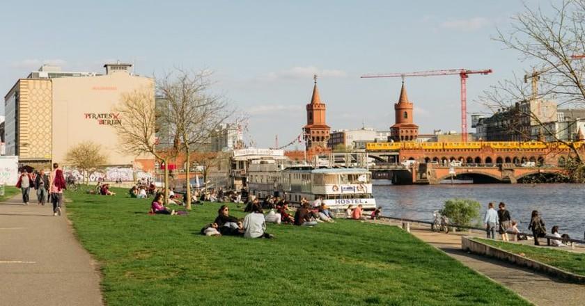 Friedrichshain neighboorhood in Berlin