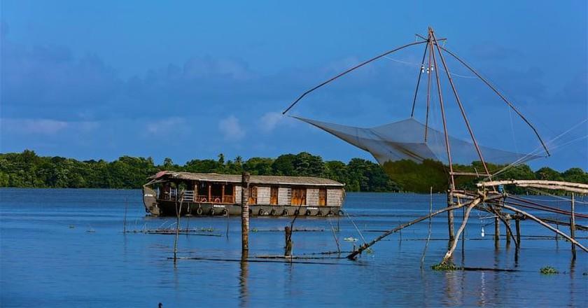 Kerala backwaters photographed by travel blogger Ajay Jain