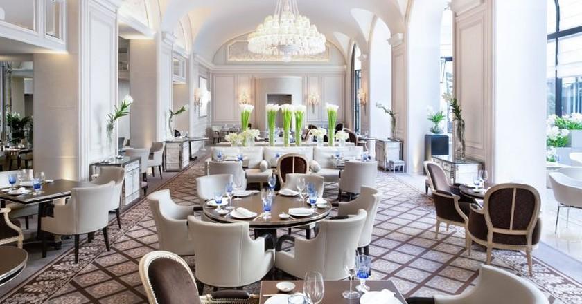 Le George restaurant | Courtesy of Le George restaurant / Gregoire Gardette