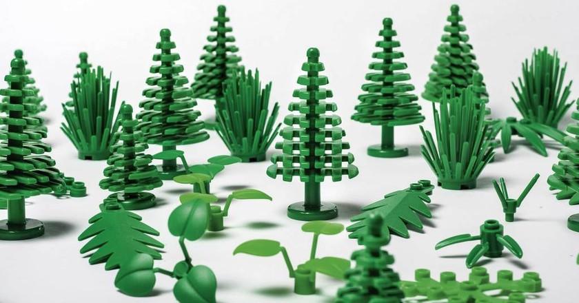 LEGO botanical elements