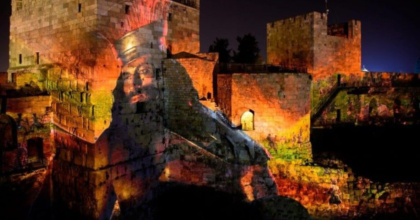 A scene from the King David night show | © Naftali Hiliger / Tower of David