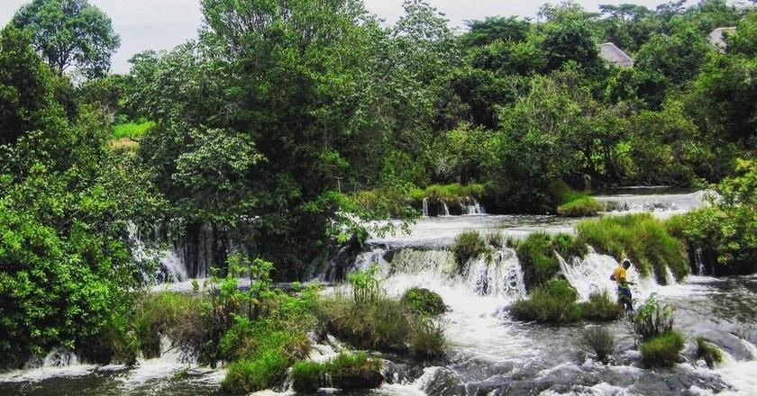 Mutanda Falls in North Western Province