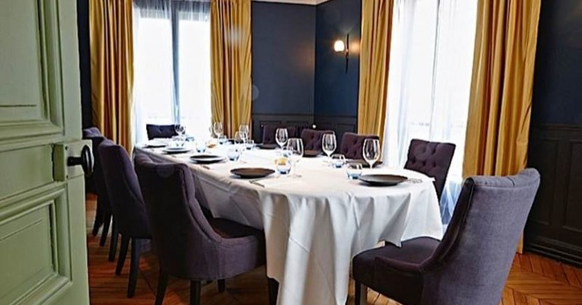 Dining in the home of a Michelin-starred chef in Paris