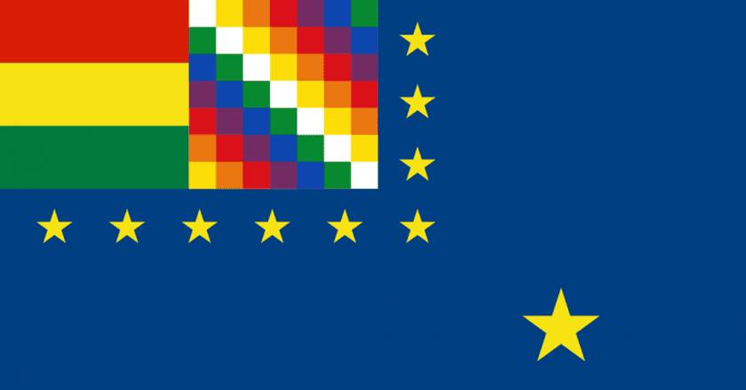 Bolivia Maritime Flag