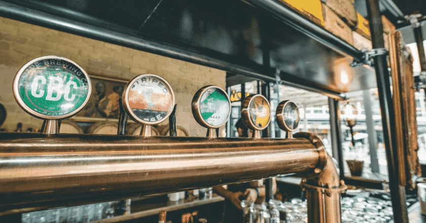 Grab a craft beer at Potato Shed in Newtown   Courtesy of Potato Shed