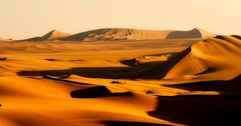 The dunes of Huacachina, Ica