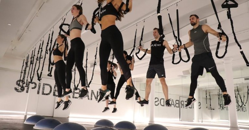Spiderbands Is The Ultimate Workout For Type-A Personalities