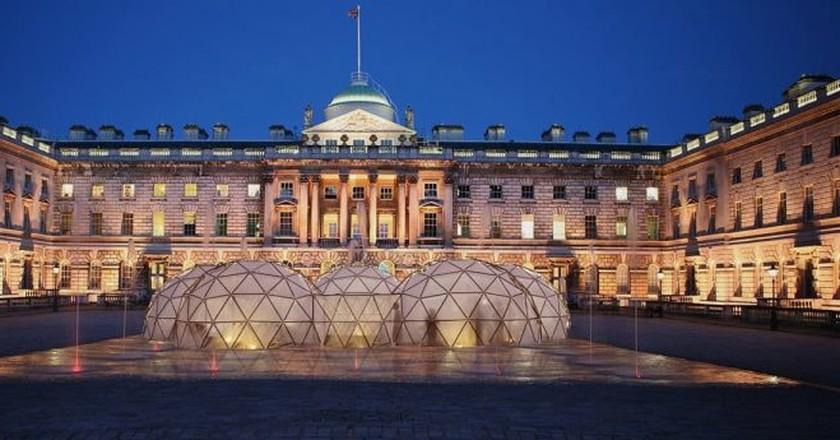 Pollution Pods render Somerset House