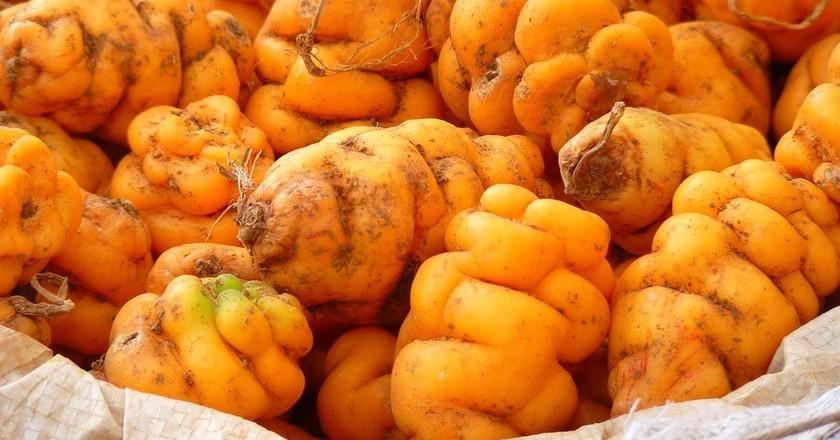 Peruvian potatoes | © LoggaWiggler / Pixabay