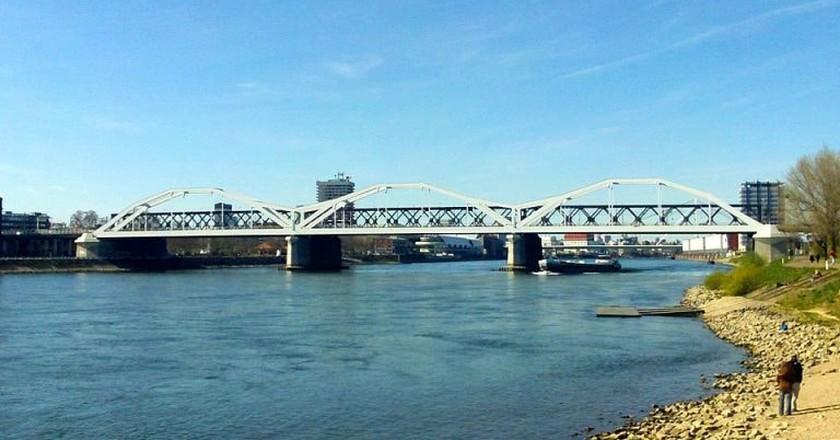 Rhine Bridge, Ludwigshafen | © wudli / Pixabay
