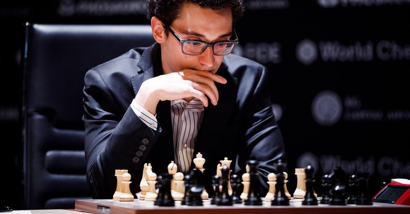 Fabiano Caruana   © World Chess