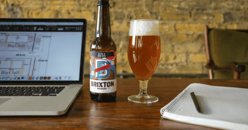 9 To 5 Desk Beer