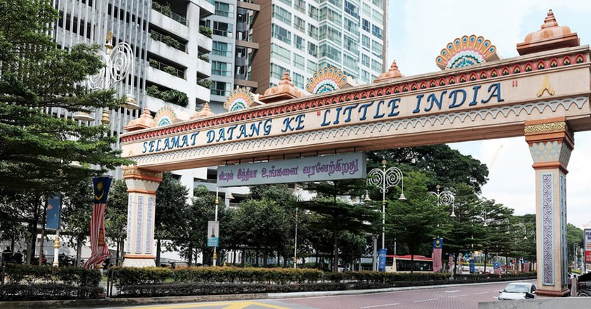 The welcome arch of Little India  in Kuala Lumpur   © Gwoeii/Shutterstock
