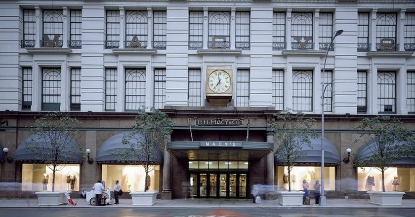 Macy's is one of the largest stores in New York   © Pixabay