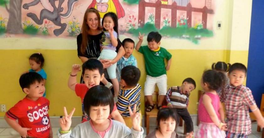 Teaching in Vietnam | © Shane Global/Flickr