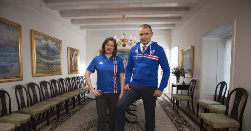The Icelandic President and First Lady