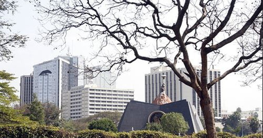 Uhuru Gardens Monument