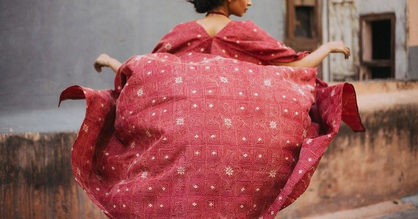 House of Wandering Silk is one of the leading sustainable brands in India