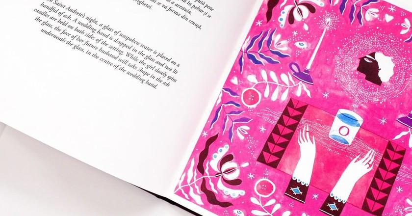 Book by Romanian illustrator Mădălina Andronic