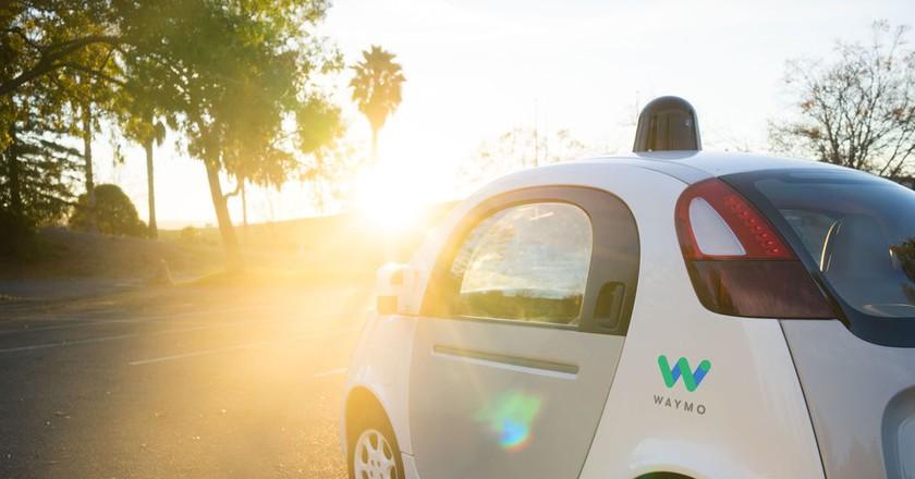 Waymo is one of the companies developing self-driving cars   © Waymo