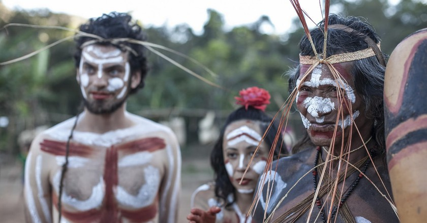 One of the many indigenous communities in Brazil