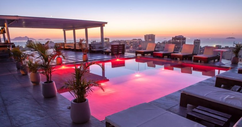 The gorgeous views from Casa Mosquito's rooftop bar and lounge