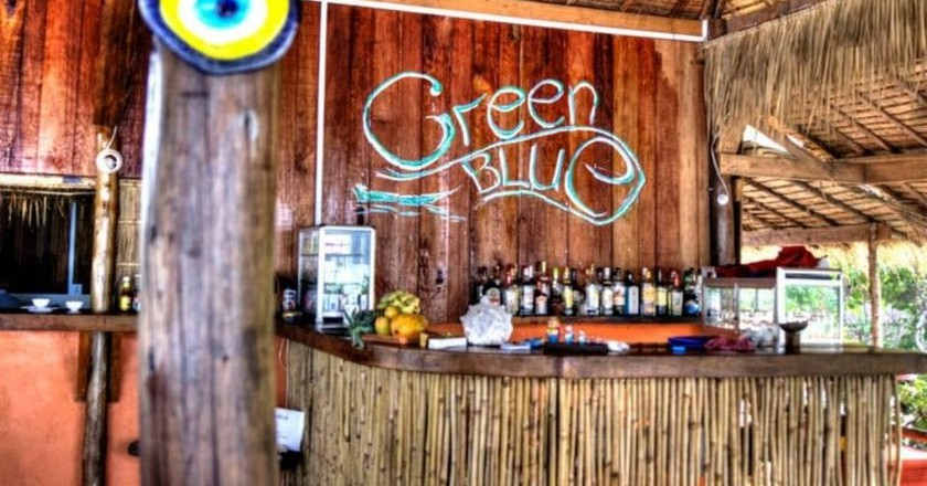 The cocktails are recommended at GreenBlue Beach Bungalows