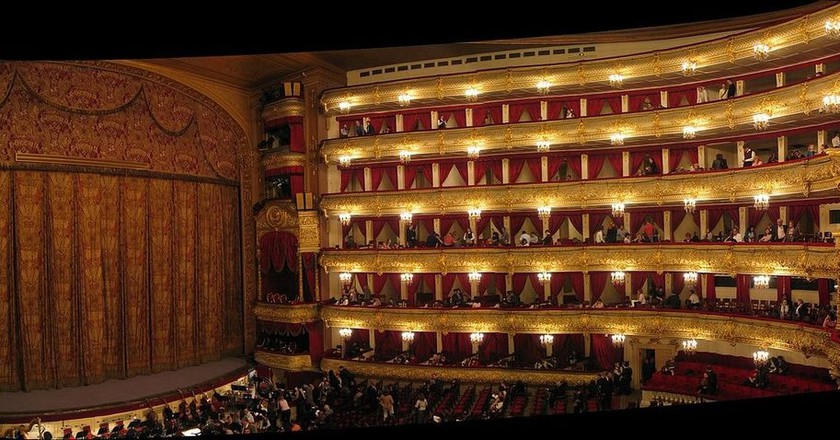 Inside the Bolshoi Theatre in Moscow | © Theefer/Wikimedia Commons
