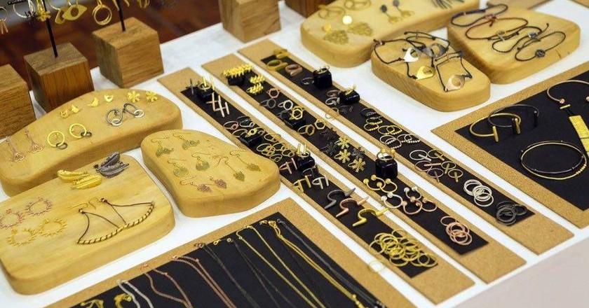 Sophia Koutsoukou Jewellery Creations at the Athens Xclusive Designers week, 2015