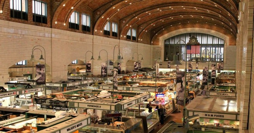 The West Side Market in Cleveland