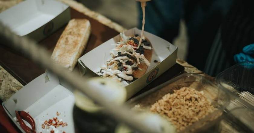 Street food in Athens