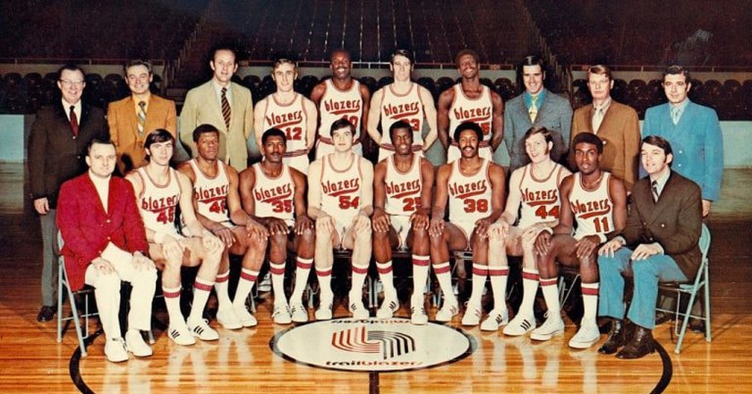 The 1970-71 Portland Trail Blazers team