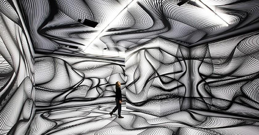 PETER KOGLER's Untitled, 2018   © Aldo Paredes for la Rmn-Grand Palais, 2018