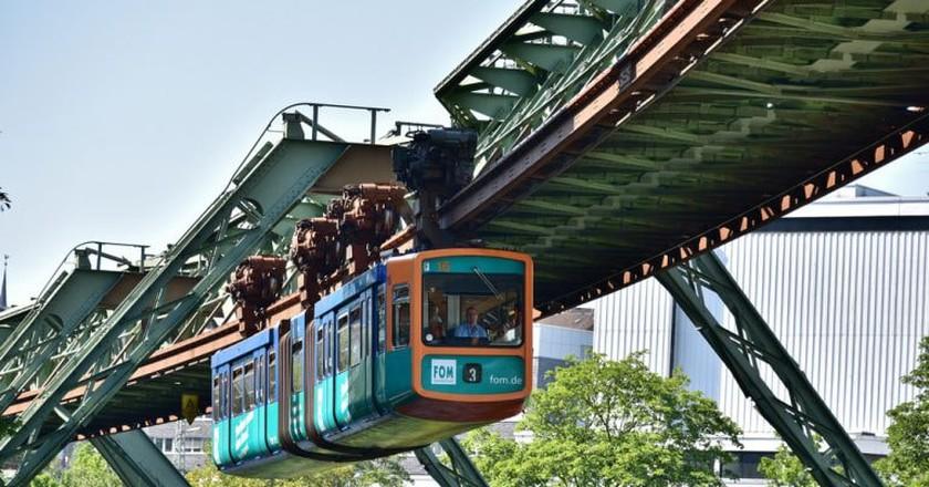 Wuppertal suspension railway