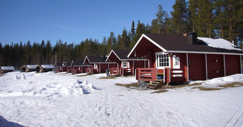 Classic holiday cabins in Rovaniemi