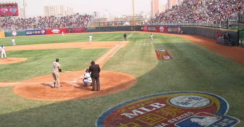 MLB China Series   © TaQpets/Flickr