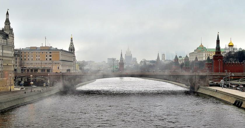 Moscow in the fog | © kolia-fotki/Flickr