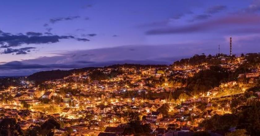 Nightfall in Rio Grande do Sul