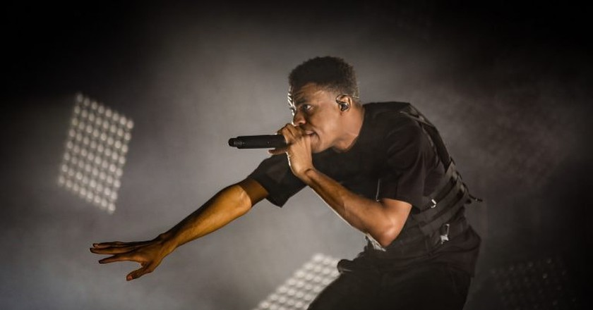 Vince Staples performing at First Avenue & 7th St Entry.