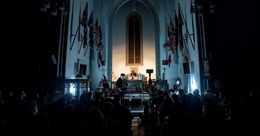 The Man from Managra live at St. Paul's Sessions