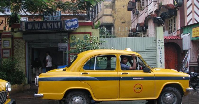 Kolkata's ubiquitous yellow taxis