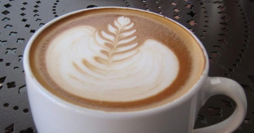 Urth Caffé latte