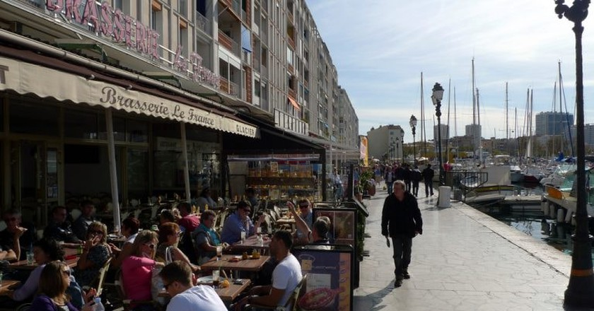 Dining in Toulon, South of France