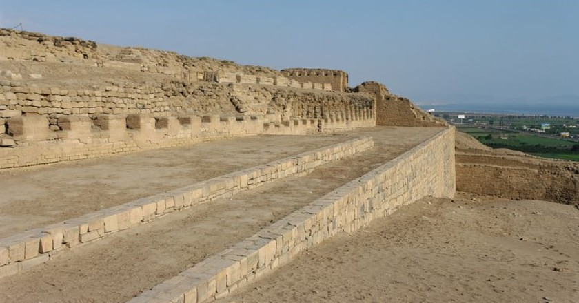 A look at the ruins